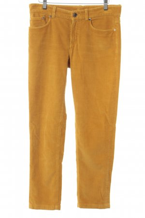 Loro Piana Cordhose goldorange Casual-Look