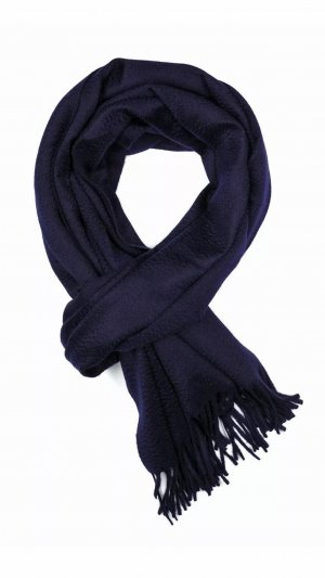 Loro Piana Kaschmir Schal blau Np900€