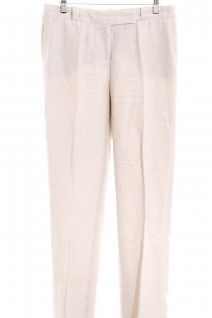 Loro Piana Leinenhose hellbeige Business-Look
