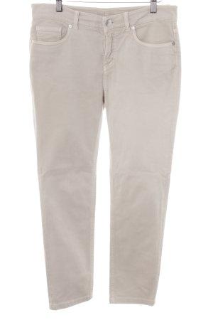 Loro Piana Skinny Jeans hellbeige Casual-Look