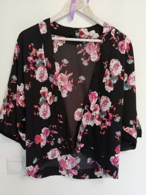 New Look Petite Kimono Blouse multicolored