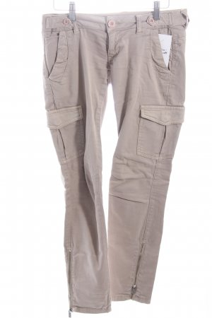 Lost in Paradise Cargohose hellbeige Casual-Look