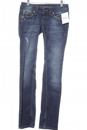 Lost in Paradise Slim Jeans blau Casual-Look