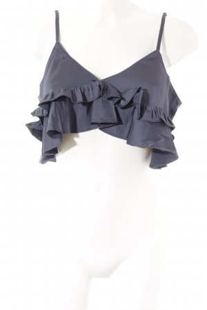 Lost Ink Crop-top gris anthracite style extravagant