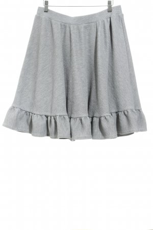 Lost Ink Circle Skirt grey urban style