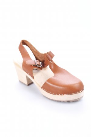 Lotta from Stockholm Clog Sandalen braun Country-Look