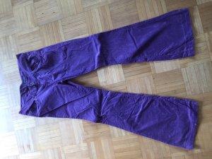 Marc O'Polo Pantalon pattes d'éléphant multicolore coton
