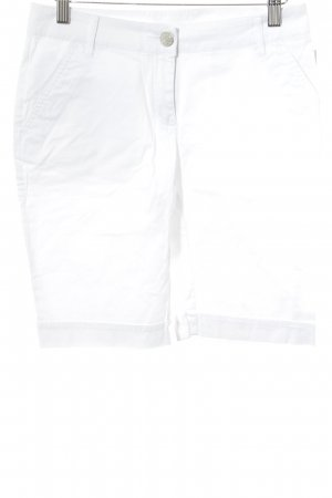 Lotto High-Waist-Shorts weiß Casual-Look