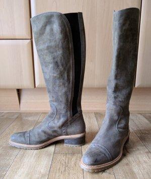 Lottusse Leder Stiefel Profilsohle NEU