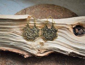 Lotus Creolen Bronze Gold