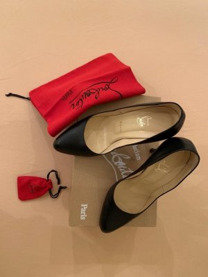 Christian Louboutin High Heels black-red