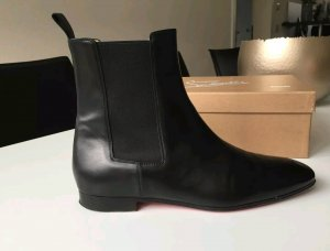 Christian Louboutin Chelsea laarzen zwart-rood