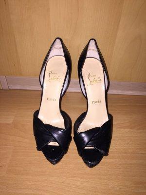 Louboutin Peeptoe High Heels