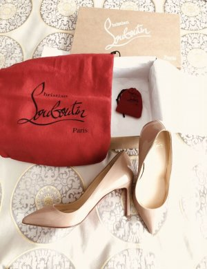 Louboutin Pigalle 85 Nude