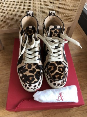 Louboutin Ponyhair Sneakers Gr. 38