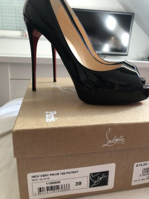 Louboutin Very Prive 120 Patent