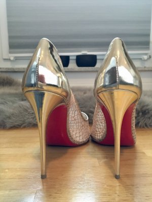 Louboutins Highheels Gold