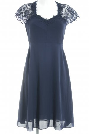 Louche Abendkleid dunkelblau Elegant
