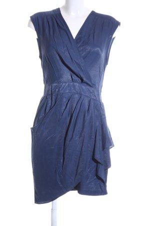 Louche Vestido estilo flounce azul look casual