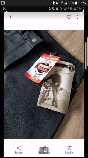 Louis Classic Pantalone in pelle nero