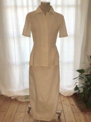 Louis Feraud contraire - weißes figurfreundliches Sommerkleid - (Gr. 36-38 --> siehe Maße)  +++ Wenn Sie das Gefühl haben, wir könnten uns auf einen Preis einigen ... so senden Sie mir doch Ihre Preisvorstellung +++
