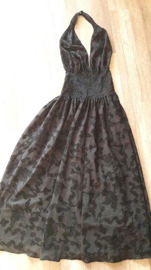 Louis Féraud Lingerie Set Spitze Lace Gothic Nachthemd Kleid Negligé Mantel
