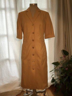 Louis Feraud Mantelkleid / Hemdkleid in einem wunderbaren Sandton - (Gr. 36 - 38 --> siehe Maße) +++ - Wenn Sie das Gefühl haben, wir könnten uns auf einen Preis einigen ... so senden Sie mir doch Ihre Preisvorstellung +++