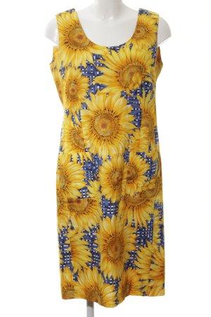Louis Feraud Trägerkleid Blumenmuster klassischer Stil