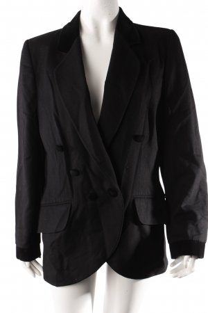 Louis Feraud wool blazer with velvet collar