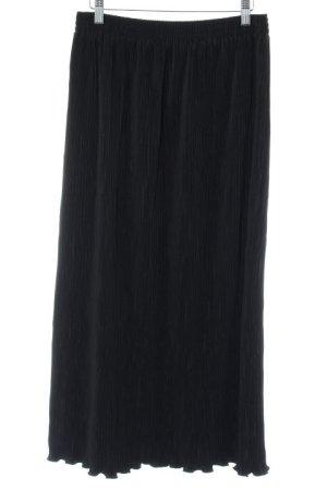 Louis London Geplooide rok zwart simpele stijl