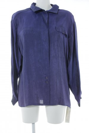 Louis London Vintage-Bluse blaulila