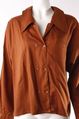 Louis London Vintage-Bluse doppelreihige Knopfleiste Gr. 34