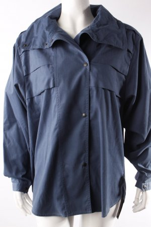 Louis London Vintage-Blusenjacke blau