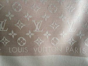 Louis Vouitton Monogram Denim Tuch rosa