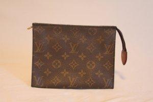 Louis Vuitton Mini sac brun cuir