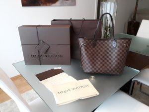 Louis Vuitton Sac à main brun noir-rouge