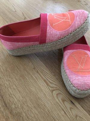 Louis Vuitton Wedge sneaker roze Katoen