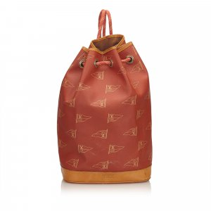 Louis Vuitton Sac à dos rouge chlorofibre
