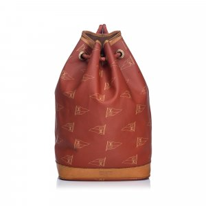 Louis Vuitton Business Bag red polyvinyl chloride