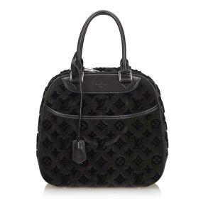 Louis Vuitton Handbag black suede