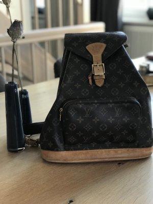 Louis Vuitton Sac à dos brun cuir