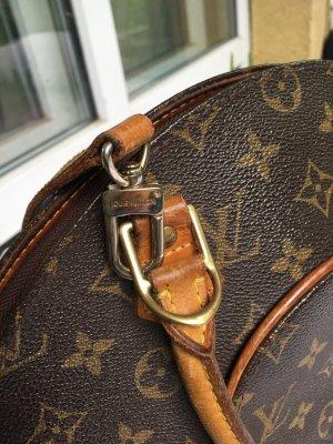 Louis Vuitton Draagtas donkerbruin-cognac Linnen