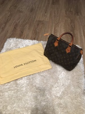 Louis Vuitton Handbag cognac-coloured-dark brown
