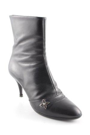 Louis Vuitton Laarzen met hak zwart elegant