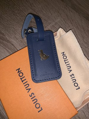 Louis Vuitton Adressanhänger Hund Limited Edition blau