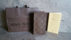 Louis Vuitton Porte-cartes marron clair-brun cuir