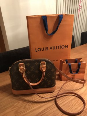 Louis Vuitton Sac à main beige-brun