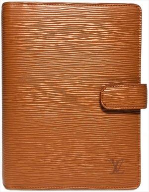 Louis Vuitton Agenda Fonctionell MM Epi Leder Braun Terminplaner Kalender