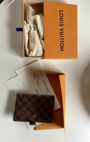 Louis Vuitton Agenda Fonctionell PM Damier Ebene Canvas Neu