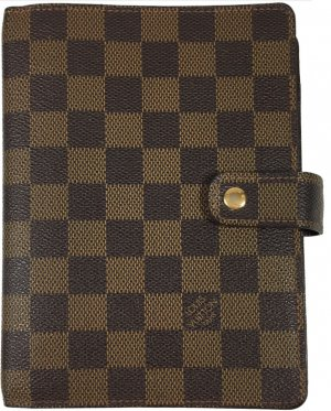 Louis Vuitton Agenda Fonctionnel MM aus Damier Ebene Canvas
